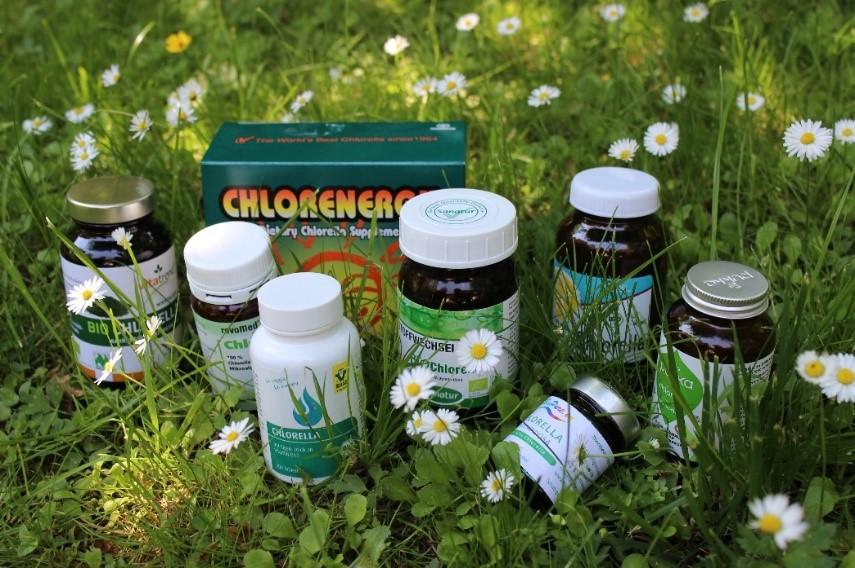 Chlorella Chlorenergy GSE Biopure Pukka